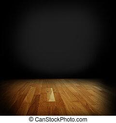 硬木, 地板,