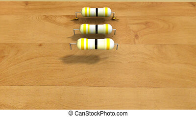 RESISTORS IN PARALLEL - A circuit composed solely of...