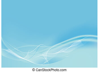 abstract background - water Background Vector Cool Waves,...