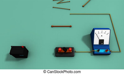 Resistance in different metals - The electrical resistance...