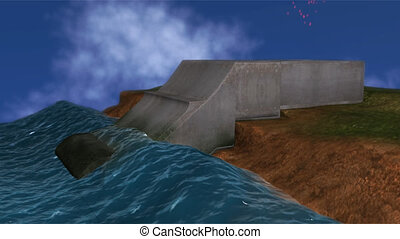 Wave energy - Waves are generated by the wind as it blows...