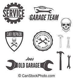 Set of logo, badge, emblem and logotype element for...