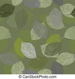 Camouflage seamless pattern. Illustration format.