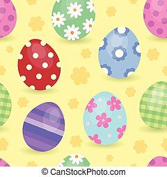 Easter theme seamless background 1
