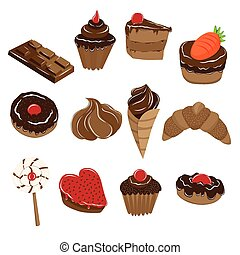 Baked Chocolate Food