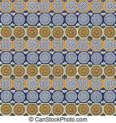 Moorish tile background