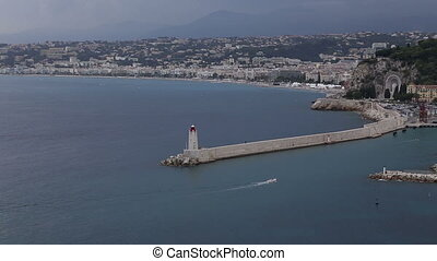 Nice harbor France Cote d'Azur - DSLR Full HD progressive...