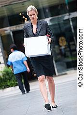 Unemployed Businesswoman
