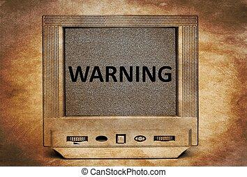 TV warning