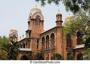 University of Madras in Chennai, Tamil Nadu, India -...