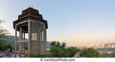 Lek Kok Si Buddhist temple above Penang, Malaysia - The Lek...