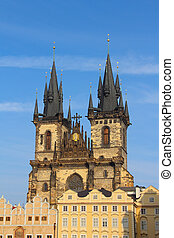 Church of our Lady Tyn in Prague, Old Town