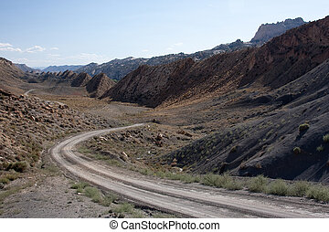 The Cockscomb at Grand Staircase-Escalante - Southern...