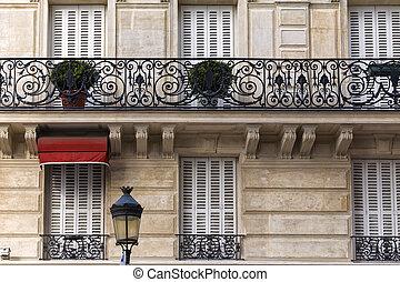 Traditional Facade in Paris