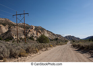 Cottonwood Road in Grand Staircase-Escalante National...