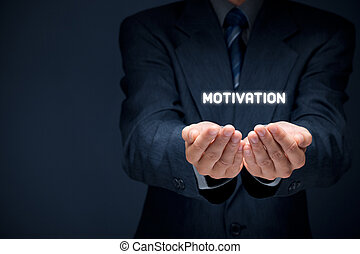 Motivation - Businessman, consultant or human resources...
