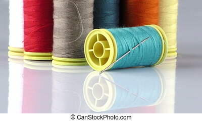 Fabric Rolls and Needle