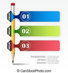 Infographic vector template - Infographic vector template...