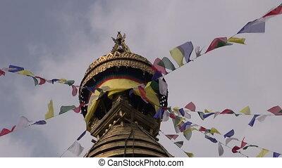 Swayambhunath Stupa Monkey temple - Swayambhunath Stupa or...