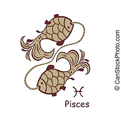 Decorative pisces