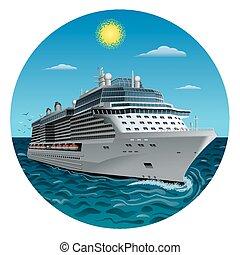 criuse ship