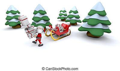Santa, Dons
