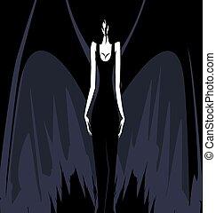 darkness girl