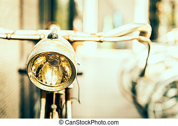 Old antique bicycle