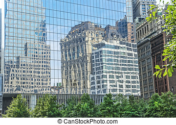 New York City Architecture - Reflection of New York City...