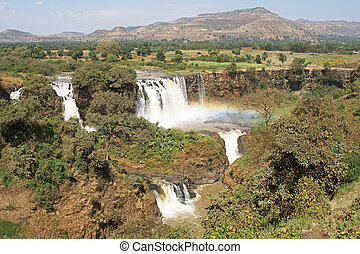 Blue Nile falls, Bahar Dar, Ethiopia - Blue Nile waterfalls,...