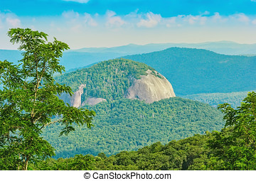 Looking Glass Rock - Majestic Looking Glass Rock in North...