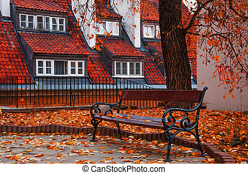 Old Town in the autumn.