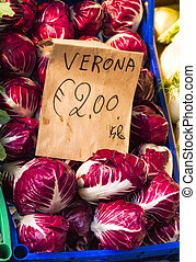 Vegetables on Display at a Local Market