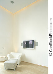 minimalism decoration in a modern house
