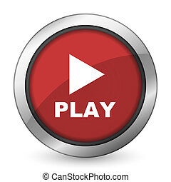 play red icon