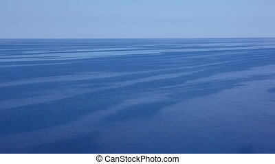 Blue sea - Offshore of the blue Adriatic Sea, great for...