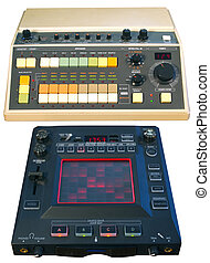 Analog Drum Machine and Digital FX - Old school vintage...