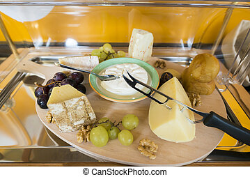 Cheese - Table with cheese