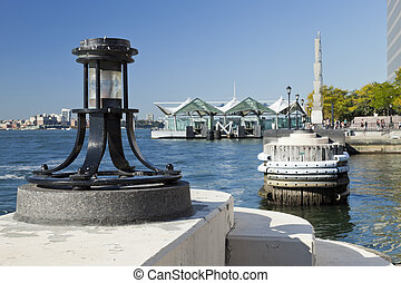 Harbour light - North Cove, New York - Harbour light - North...