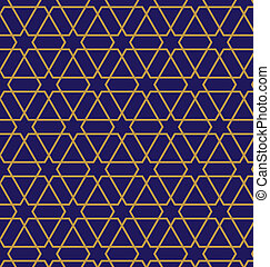 Turkish seamless pattern - Turkish-Ottoman style vector...