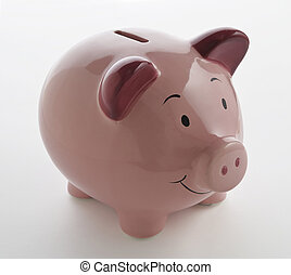 Pink PiggyBank - Pink Ceramic Piggy bank