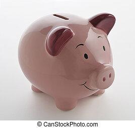Pink PiggyBank - Pink Ceramic Piggy bank