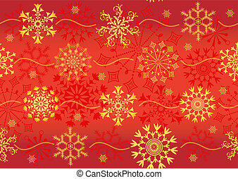 Seamless christmas red pattern