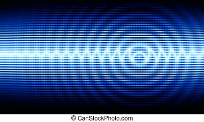 High-tech background - Blue high-tech abstract background...