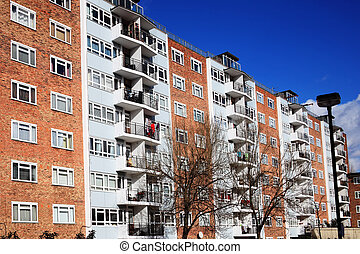 Council Flats - Public council housing apartments in London,...