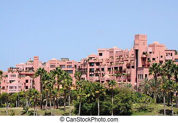 Arabic style architecture on Canary Island Tenerife, Spain