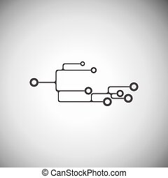 Abstract circuit board - Business technology vector design...