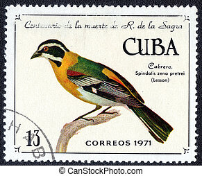 postage stamp - CUBA - CIRCA 1971: A Stamp printed in CUBA,...