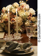Candlelight Dinner - Romantic candlelight dinner or setting...