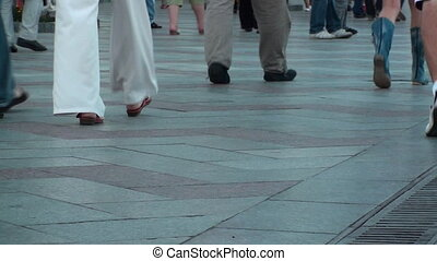 PEOPLE STREET STEPS BACKGROUND HD